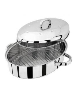 32cm High Oval Roaster with Self Basting Lid  Speciality