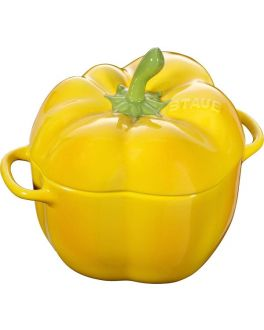 Pepper Cocotte in Yellow 12cm