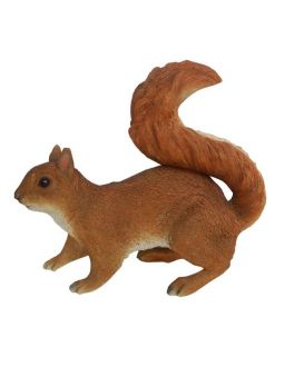 Detailed Real Life Red Squirrel Ornament