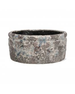 Withington Rustic Weathered Indoor Planter Plant Pot Bowl, 18.5cm