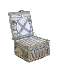 Deluxe Compact Picnic Hamper for 2 People