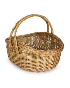 Willow Handled Cookery Shopping Basket