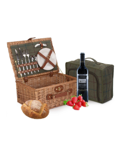 Luxury Picnic Basket for 2