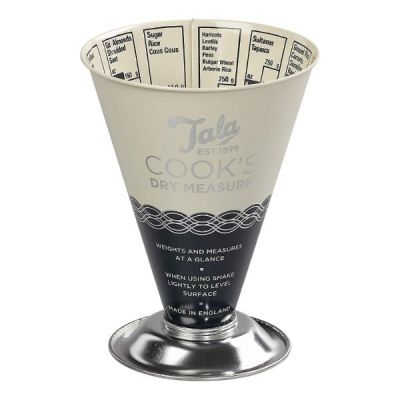 Indigo and Ivory Dry Cook's Measuring Cup