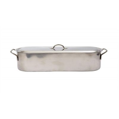 Large 62cm Supreme Stainless Steel Fish Poacher