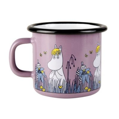 """Moomin Friends Mug with """"Snorkmaiden"""" Design in Purple 25cl"""