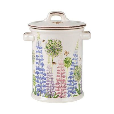 Cottage Garden Large Kitchen Storage Jar