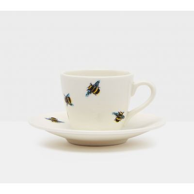 Bee Espresso Cup and Saucer