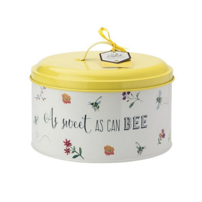 English Tableware Company Bee Happy Bee Mine Cake Tin