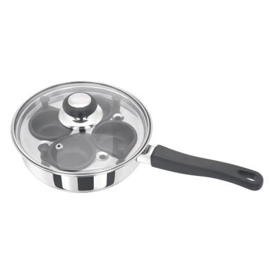 4 Egg Poaching Saucepan with Inserts