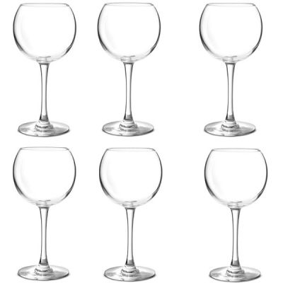 Set of 6  Cabernet Balloon Wine Glasses by Chef & Sommelier