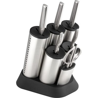 Global 7 Piece Knife Set with Classic Knives