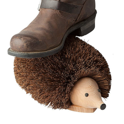 Hedgehog Boot Scraper Brush