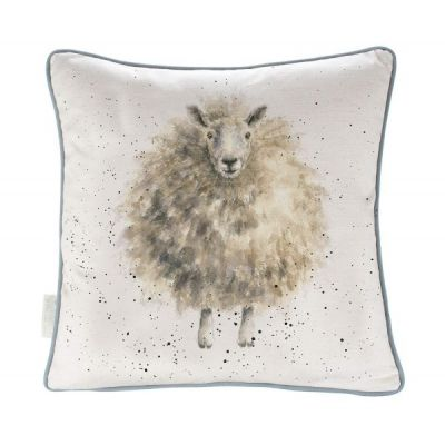 The Woolly Jumper Design Filled  Square Cushion