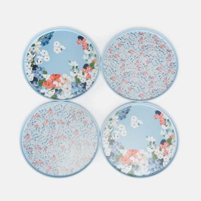 Joules Melamine Outdoor Dining Side Plate Set