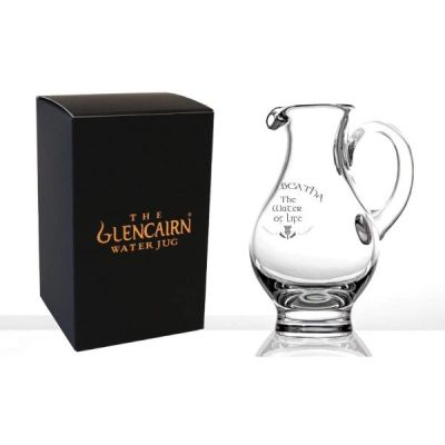 Official Whisky Water Jug Engraved ' Uisgebeatha The Water of Life