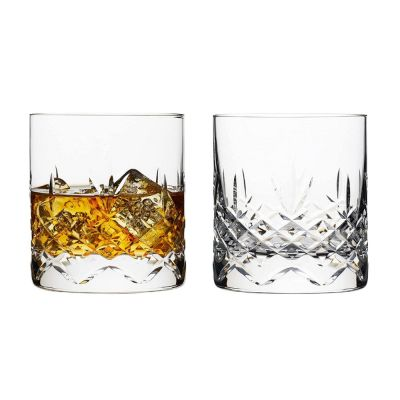 Whisky Glass Set of 2 with Presentation Box Wicklow Design