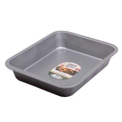 large double non-stick coated roasting tin