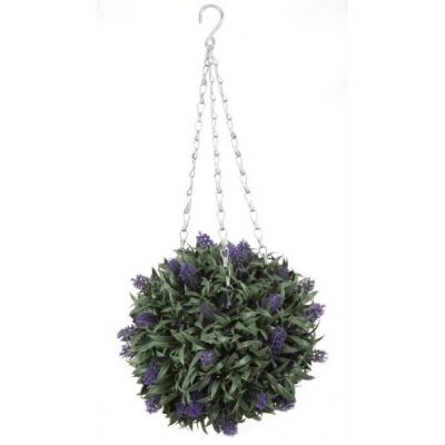 Hanging Topiary Lavender Ball 30cm