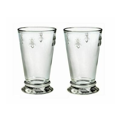 Hiball Glasses Set of 2 in Bee Design
