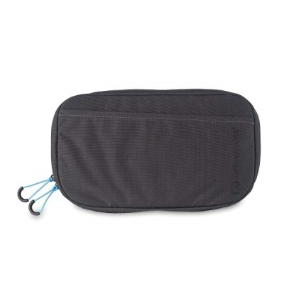Dark Grey RFID Travel Belt Pouch Bum Bag from Lifeventure