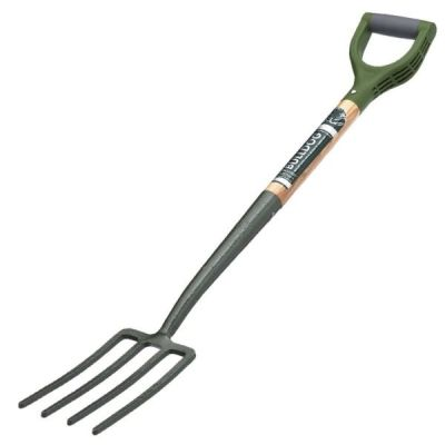Evergreen Border Fork with Ergonomic Handle