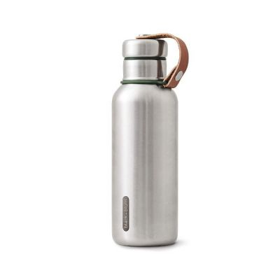 Stainless Steel Vacuum Insulated Water Bottle in Olive Green 500ml