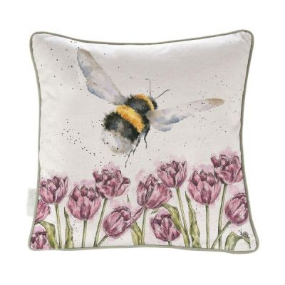 Flight of the Bumblebee Filled Cushion