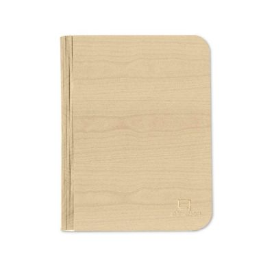 LED Smart Book Light Mini with Natural Maple Wood Effect Finish