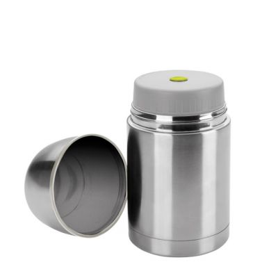 Double Wall Insulated Food Thermos Container 550ml in Stainless Steel