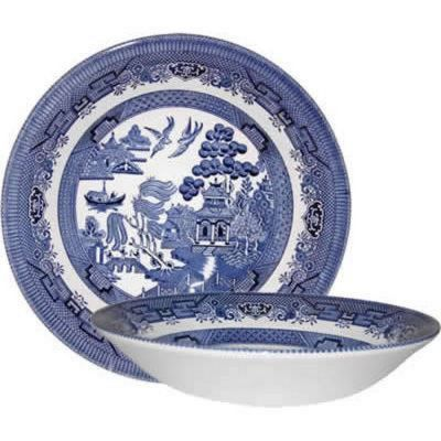 Blue Willow Coupe Bowl Set