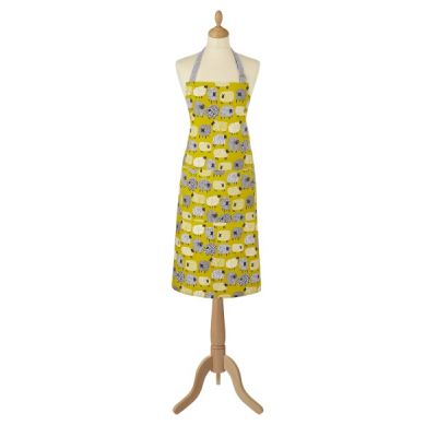 Dotty Sheep Cotton Kitchen Apron