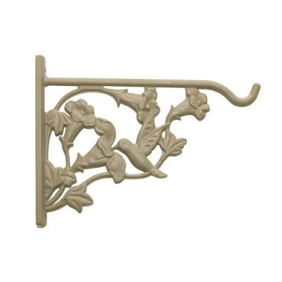 Hanging Basket Wall Bracket in Hummingbird Design