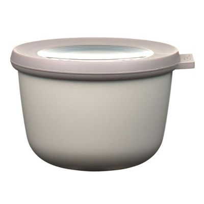 Food Storage Bowl in Grey/White 500ml from the Cirqula Range