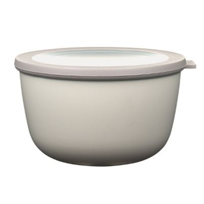 Food Storage Bowl in Nordic White 2000ml Cirqula Multi Range