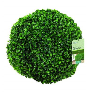 Decorative Artificial Topiary Ball Leaf Effect 40cm