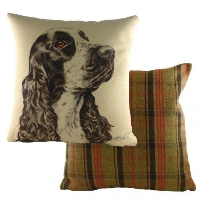 Cocker Spaniel Design Filled Cushion from the WaggyDogz Range