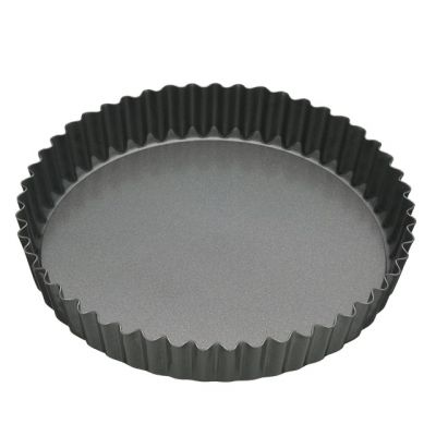 Fluted Flan Tin with Loose Base 30cm by MasterClass