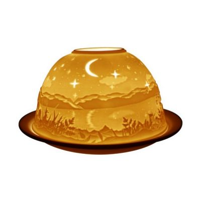 Starry Night, Light-Glow Tealight Candle Holder