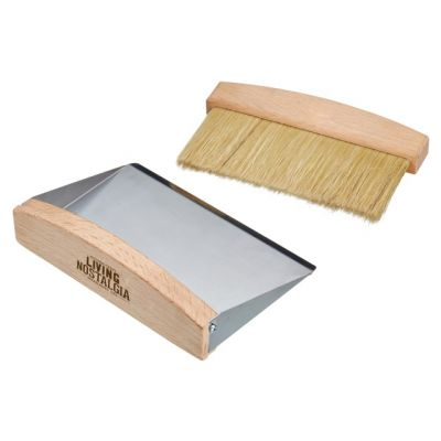 Tabletop Dustpan and Brush