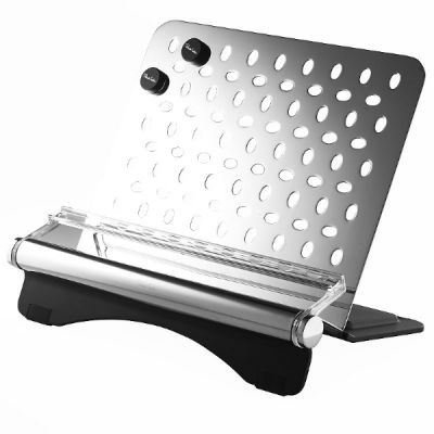 Signature Stainless Steel Cookbook and Tablet Stand