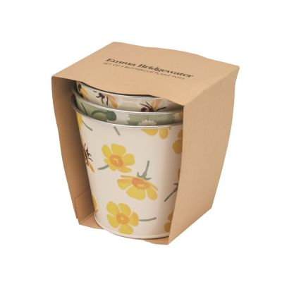 Herb Pots Set of 3 in Buttercup Design from Emma Bridgewater