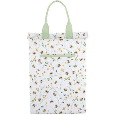 Bee Print Garden Knelling Cushion