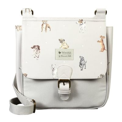 Women's Satchel Bag in 'A Dog's Life' Design