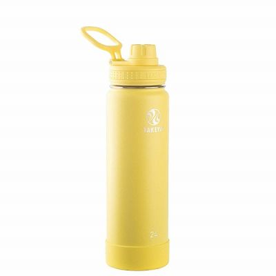 Insulated Hydration Bottle 700ml in Canary Yellow