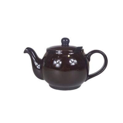 Brown 2 Cup Filter Teapot