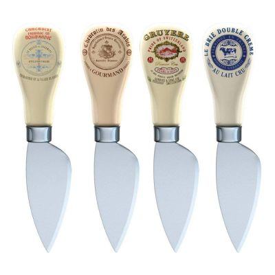 Gourmet Cheese Knives Set of 4