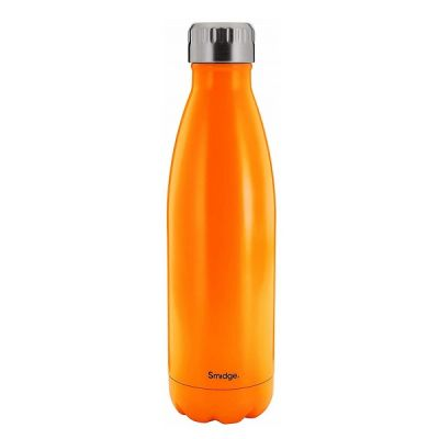 18/10 Stainless Steel Travel Drinks Water Bottle in Citrus 450ml