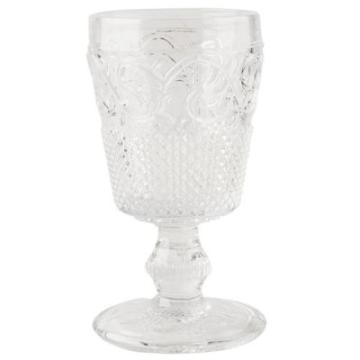Katie Alice Stunning Clear Glass Goblet