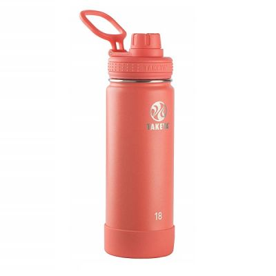Insulated Hydration Bottle 530ml in Coral